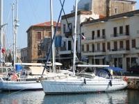 Chania--boats