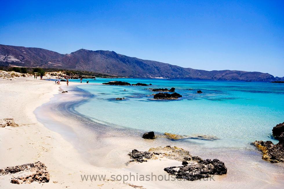 Elafonissi Beach, Cretan Caribbean