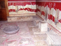 knossos throne
