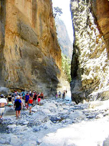 Samaria walking in Crete