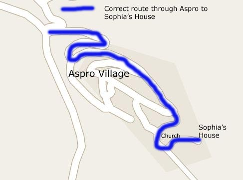 Map of Aspro