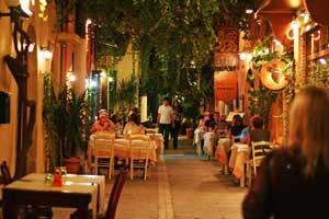 Rethymno tavernas