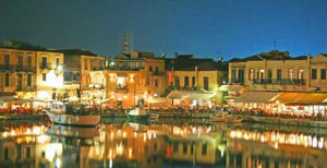 Rethymno old harbour Crete