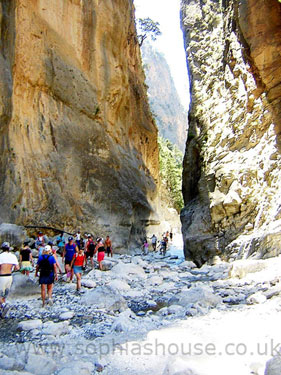 Iron Gates Samaria Gorge