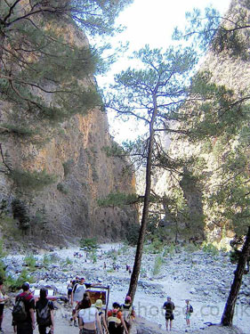 Samaria Gorge rough path