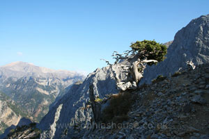 Above Samaria Gorge