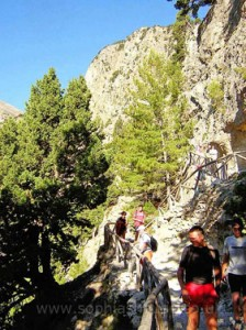 Samaria Gorge Path