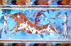 Frescoe from Knossos