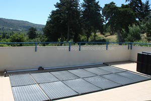 heated pool panels