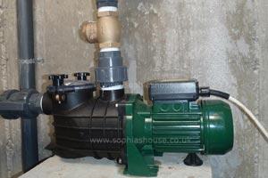 heated pool pump