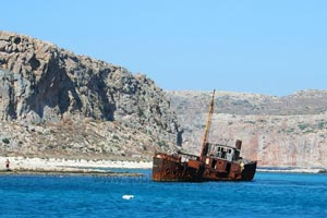Gramvoussa shipwreck