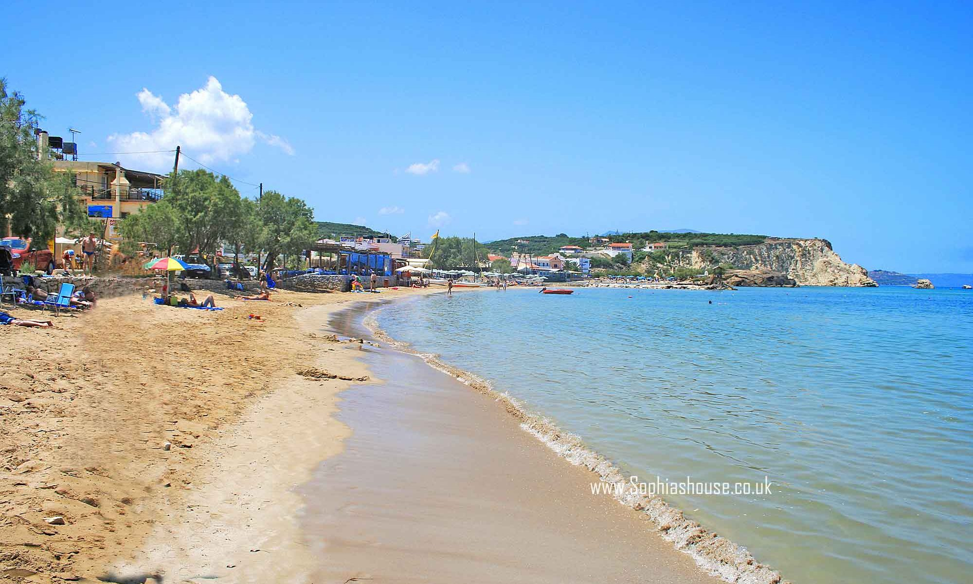 Almyrida beach