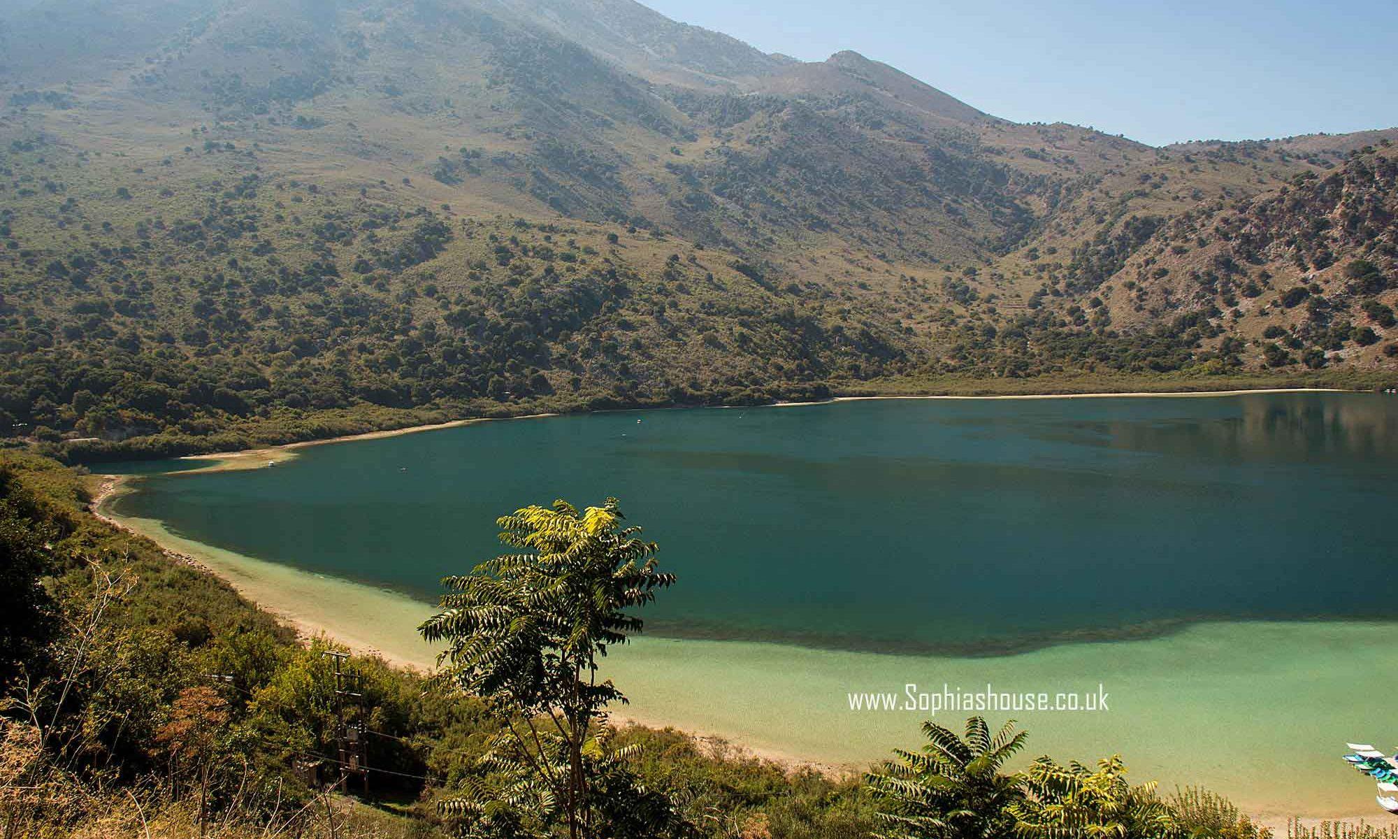 Lake Kournas Crete